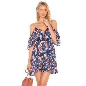 Tanya Taylor Amylia cold shoulder Dress